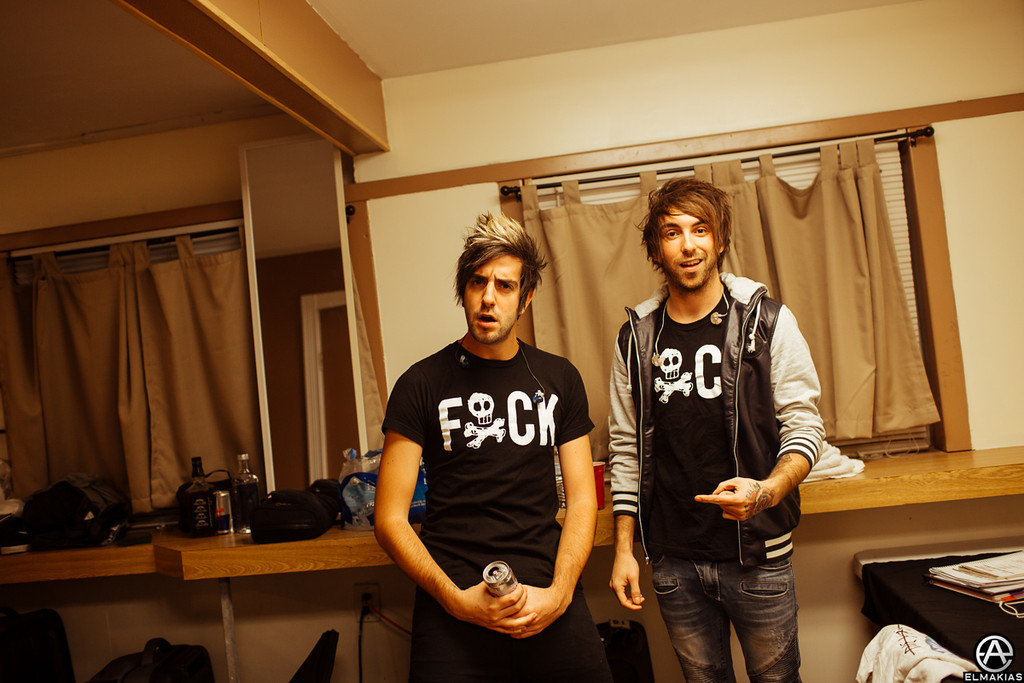 Jack and Alex of All Time Low