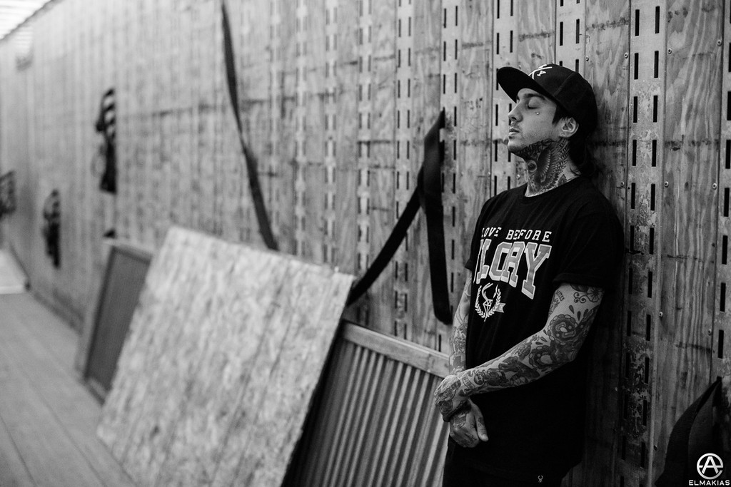Tony Perry of Pierce The Veil - The House Party Tour