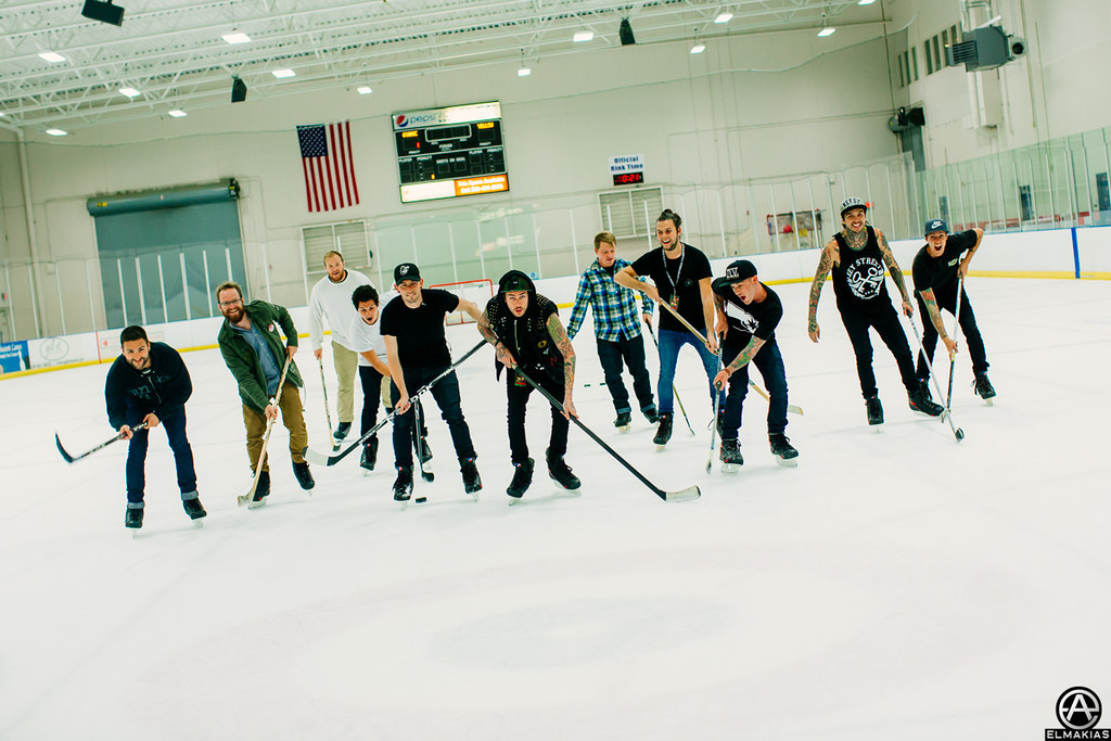 Ice Hockey next with Pierce The Veil and the Wonder Years