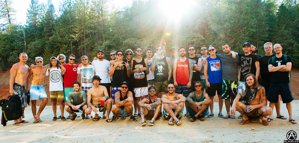 All Time Low, Pierce The Veil, A Day To Remember, and crews