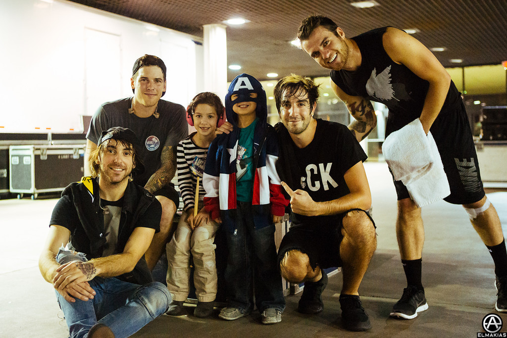 All Time Low and their old tech's children