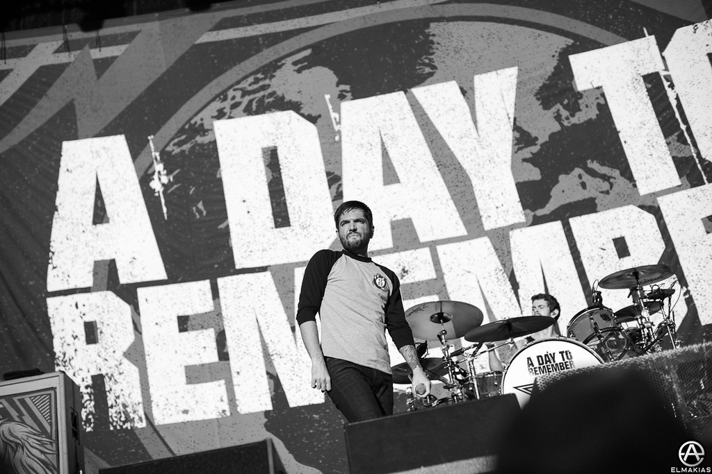 A Day To Remember live at Aftershock festival