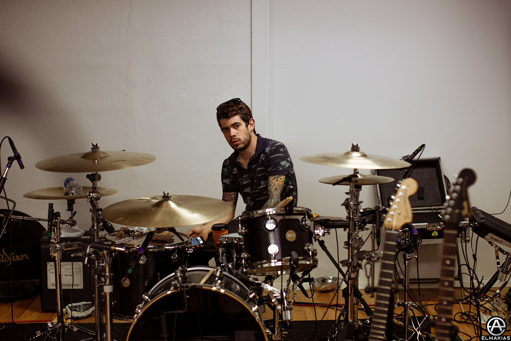 Nutts on the drums