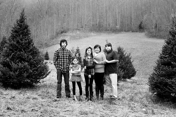 Hyatt Family Christmas Session