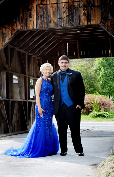 Carley & Dustin ~ Prom 2018