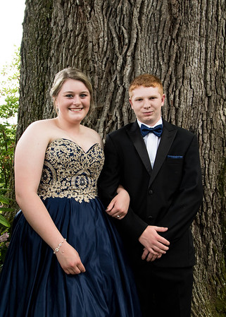 Cora and Kinley~Prom 2018