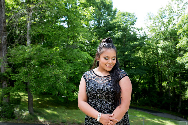 Kevonna and Nate~Smoky Mtn High prom '18