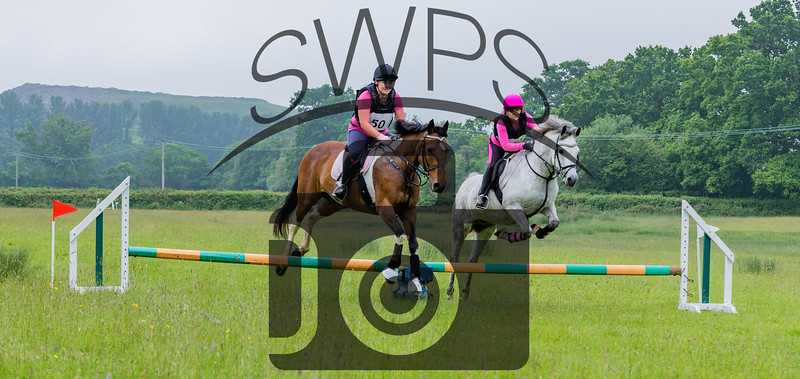 Cockington Riding Club Fun Jump Cross Class 3 - 2ft Pairs_020