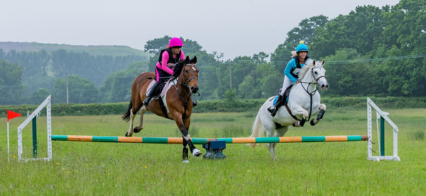 Cockington Riding Club Fun Jump Cross Class 3 - 2ft Pairs_002