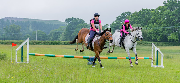 Cockington Riding Club Fun Jump Cross Class 3 - 2ft Pairs_021