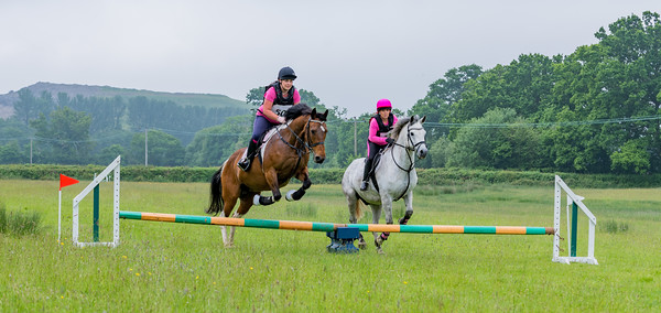 Cockington Riding Club Fun Jump Cross Class 3 - 2ft Pairs_019