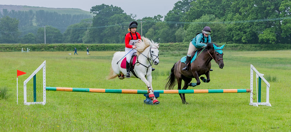 Cockington Riding Club Fun Jump Cross Class 3 - 2ft Pairs_011