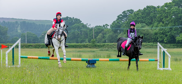 Cockington Riding Club Fun Jump Cross Class 3 - 2ft Pairs_015