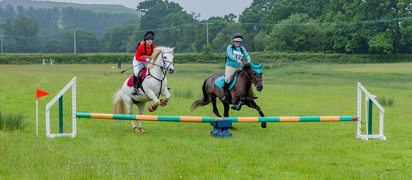 Cockington Riding Club Fun Jump Cross Class 3 - 2ft Pairs_009