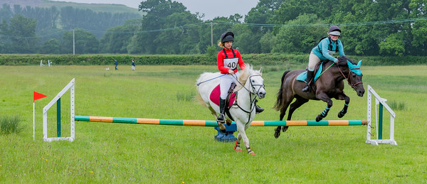 Cockington Riding Club Fun Jump Cross Class 3 - 2ft Pairs_012