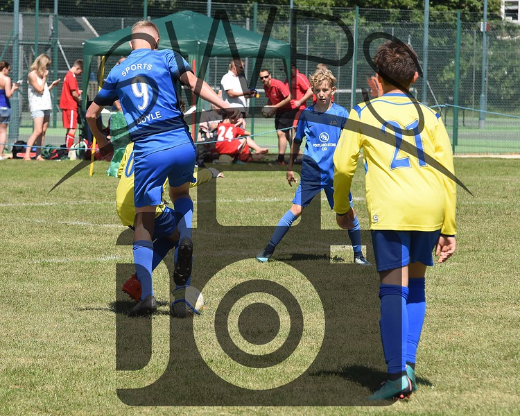 Longfleet Yellow v Portland Sports U13's00022