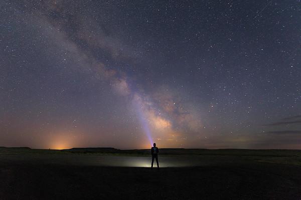 Star Gazing in Vananda