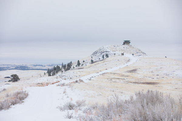 Diamond Butte Fire lookout in Custer Gallatin NF