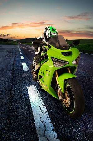 Kawasaki Ninja ZX6R-Green-190114-