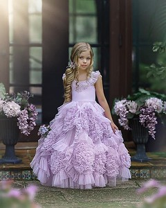 Frock Lavender size 4 and 5
