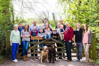 On-location Family shoots