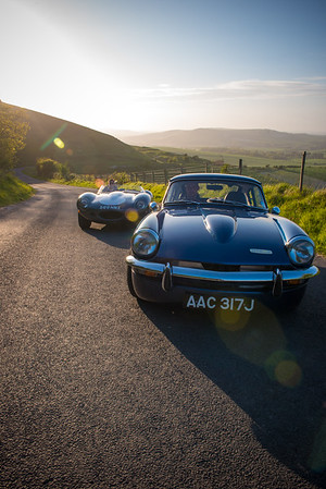 TA-D-type & GT6 Firle Beacon 210515