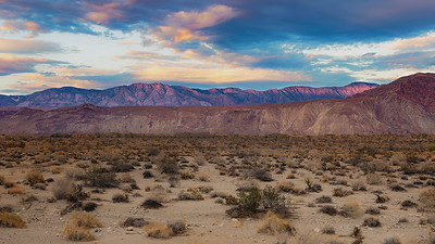 Borrego Desert and Mountains