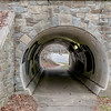 Tunnel looking West on Mass Ave in Bethesda