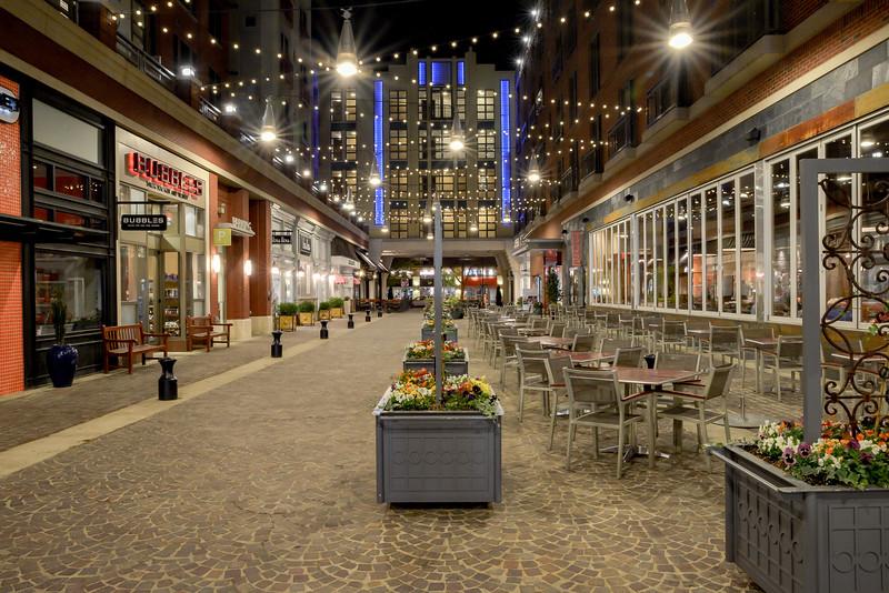 Bethesda MD, Arlington Road Shopping Alley