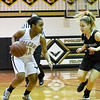 Qo's Giulia Sanmartin defends in mid season game against Poolesville
