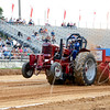 Montgomery County Ag Fair - Gaithersburg Fairgrounds, Monday's Premier event was the Tractor Pulling Contest<br /> <br /> Always a crowd favorite at the AG Fair is the 6,000LB Classic Mod McCormick Farmall tractor pull.