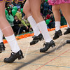 Parade on Main Street at the RIO. Hurley's Irish dancers perform for the crowd and judges.