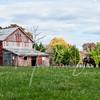 Red Barn in North Potomac on Jones Lane Road
