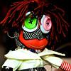 Voodoo Doll in the Window