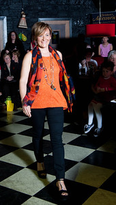10th April 2014: Ruth O'Driscoll, Mallow as she strutted the catwalk at the Fashion Show in aid of Edel House at The Bodega Cork on Thursday 10th April. Ruth is a staff member of Edel House.