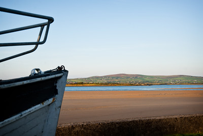 Sunset-with-Boat-on-Feale-Estuary
