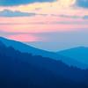 Sunset in Smokey Mountains