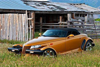 2002 Chrysler Prowler Inca Gold