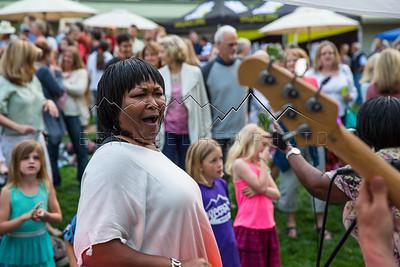 Hazel Miller at First Fridays, Edwards, CO