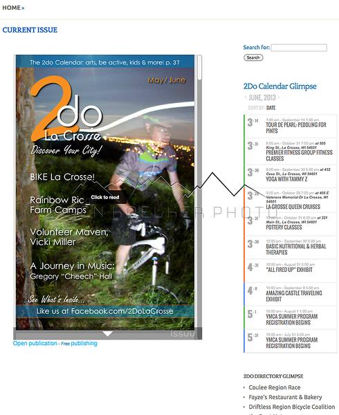 2Do La Crosse May/June 2013  rider: Ben Leach