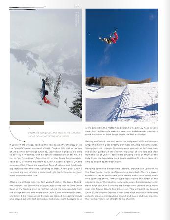 Snowboard Colorado, Spring 2013  rider: Joe Timlin