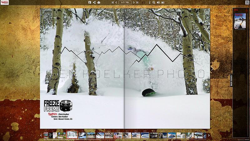 Shred Mag Vol. 2  rider: Mark Koelker