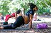 Healing event in Piedmont Park Feature