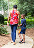 Friends and families are having tough conversations about race, equality and police brutality in the wake of nationwide riots and days of protesting.  Monica Langley and her son Cade Crockwell, 5, talk Tuesday, June 9, 2020.  (Jenni Girtman for The Atlanta Journal-Constitution)