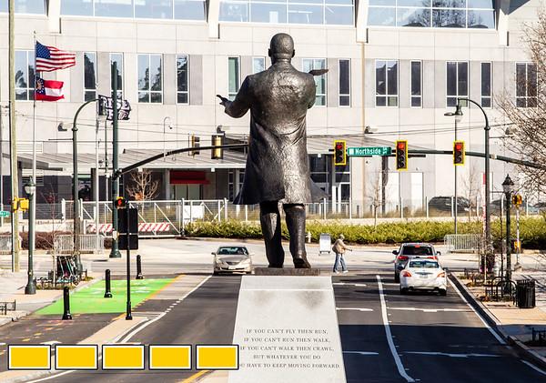 new MLK statue