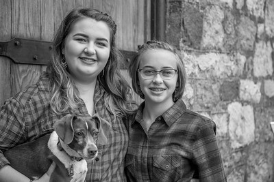 The Marden Girls in Black and White-07
