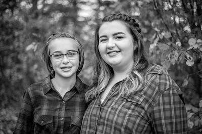 The Marden Girls in Black and White-16