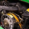 The ancillary parts of the engine have been refurbished and adjusted as necessary for proper functioning.