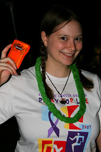 Elyse and the Geek Squad flash light.