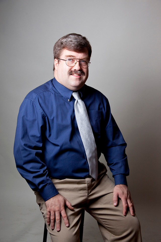 Personal portrait of Robert taken in December 2009 as part of the Help Portrait project.